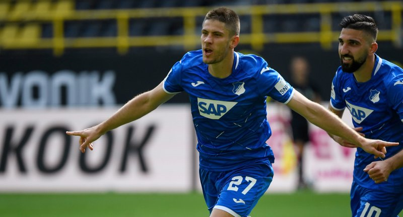 Andrej%20Kramaric%20270620 - Borussia Dortmund 0-4 Hoffenheim | MAÇ SONUCU