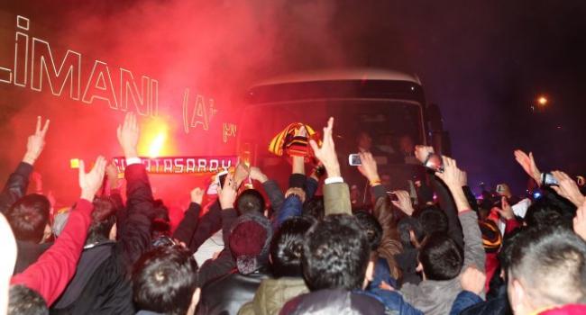 Galatasaray Diyarbakır'a geldi