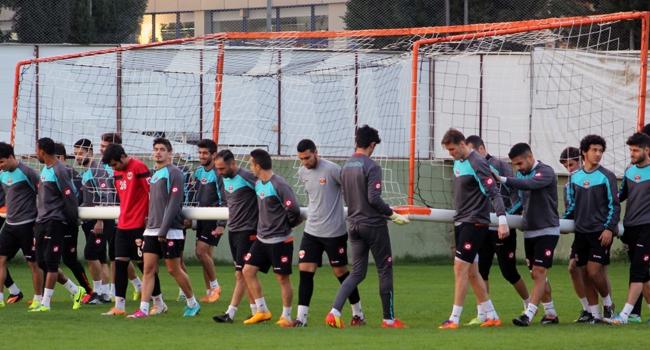 Adanaspor derbiye hazırlanıyor