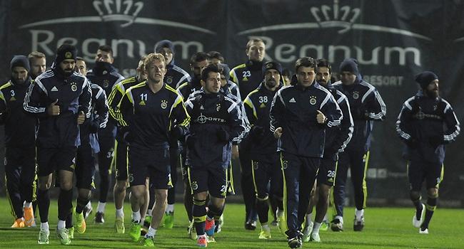Fenerbahçe Konya'ya tam kadro gitti