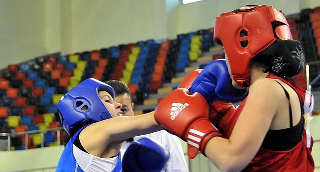 Kadınlar ve boks...