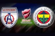 Altınordu-Fenerbahçe maç sonu açıklamalar