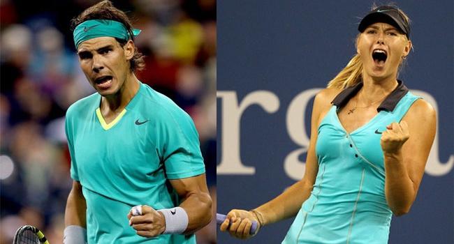 Nadal ve Sharapova çeyrek finalde!