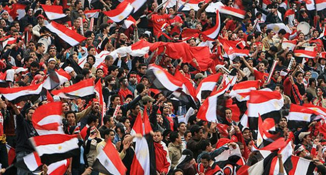 Mısır'da yeşil sahalara sembol yasağı