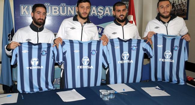 Adana Demirspor'da imza töreni