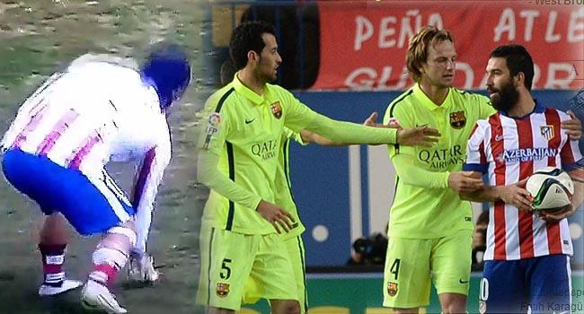 Arda'dan Barça maçında şok hareket!