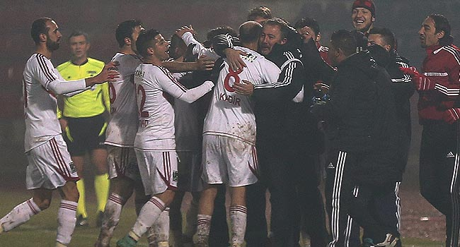 Sivasspor'dan flaş galibiyet