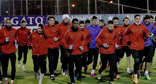 Trabzonspor'da 5 eksik