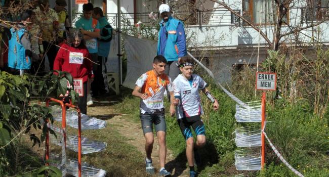 Alanya'daki oryantiring yarışları sona erdi
