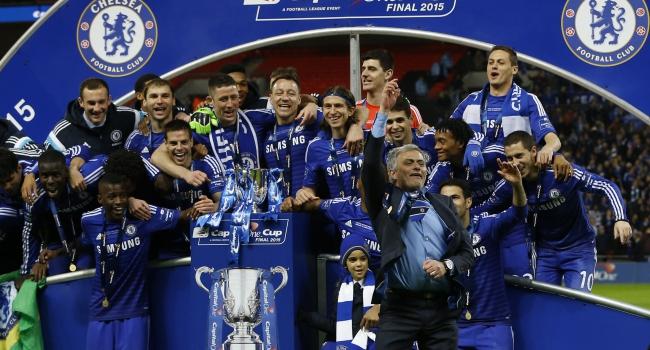 Dev kupa Chelsea'nin