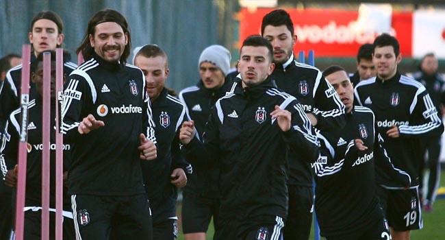 Beşiktaş'ta 6 isim idmanda yok