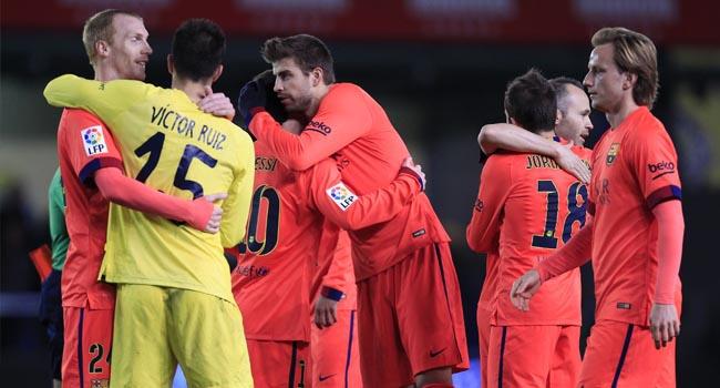 Barcelona güle oynaya finalde