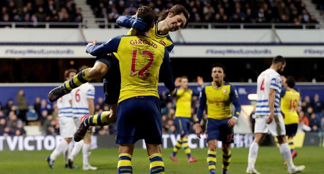 Arsenal'in çıkışı sürüyor