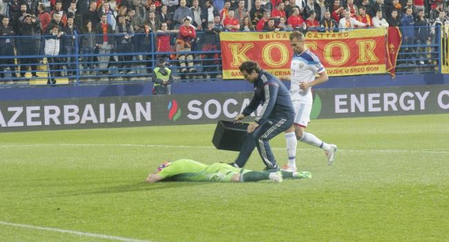 Karadağ-Rusya maçı tatil edildi