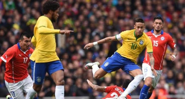 Brezilya'dan tek gollü galibiyet!