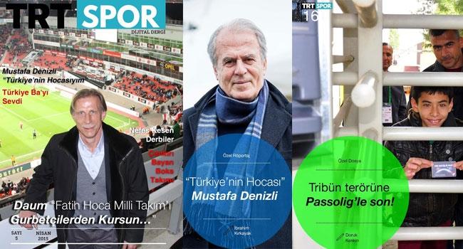 TRTSPOR DD Nisan sayısı yayında