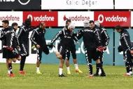 Beşiktaş çalışmaları sürdürüyor