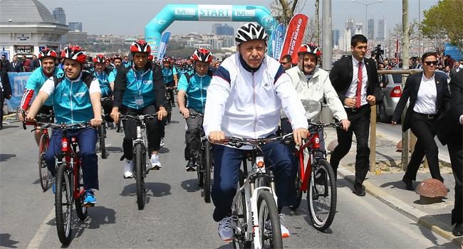 Cumhurbaşkanı Erdoğan pedala bastı