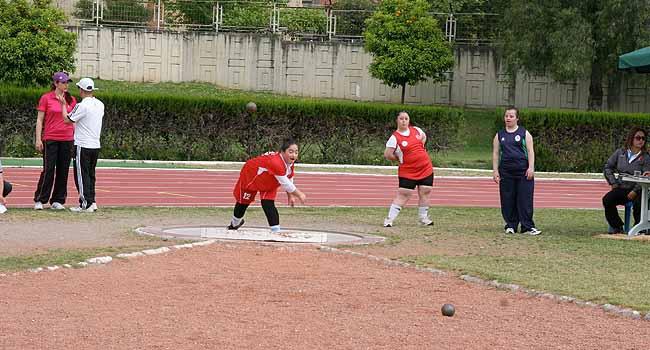 Özel Sporcular Atletizm Şampiyonası başladı