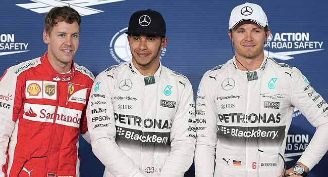 Formula 1'de Hamilton rüzgarı
