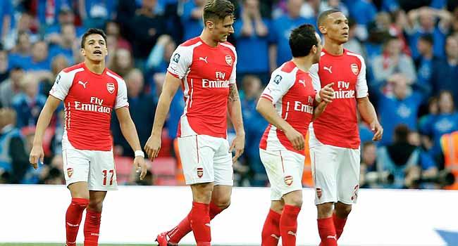 Arsenal kupada finalde