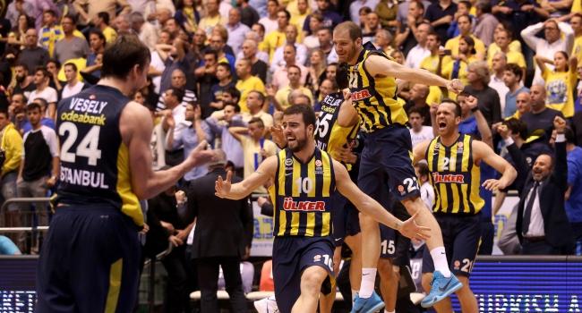Fenerbahçe'de Dörtlü Final coşkusu
