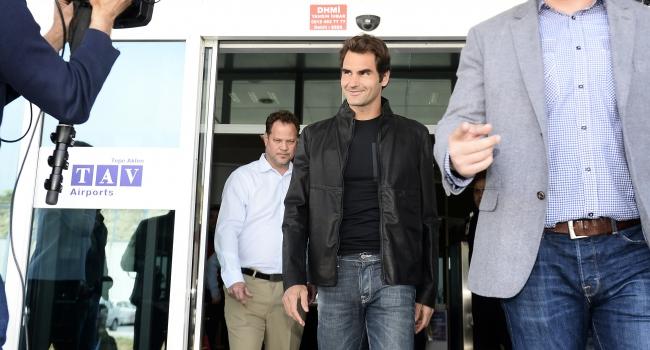 Federer İstanbul'da