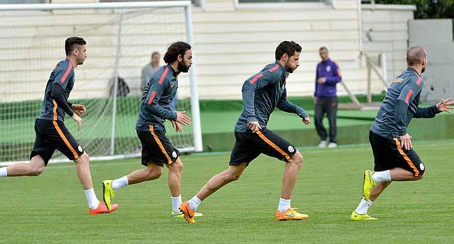 Galatasaray'dan Sivasspor hazırlığı