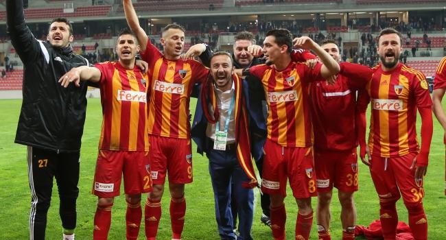 Kayserispor Süper Lig yolunda