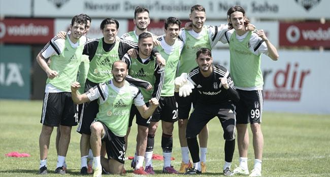 Beşiktaş'ta keyifler yerinde!