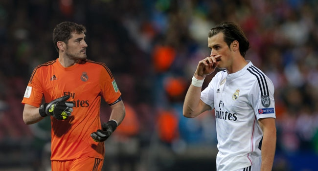 Casillas Bale'i solladı!
