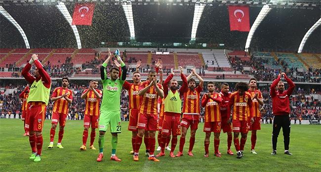 Kayserispor'un yeni hedefi!