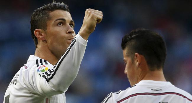 Ve kral Cristiano Ronaldo!
