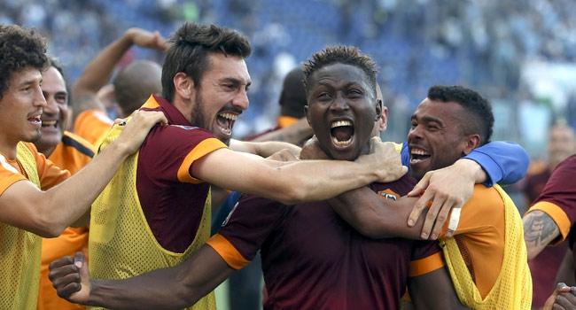 Lazio'yu yendi, şampiyon gibi sevindi!