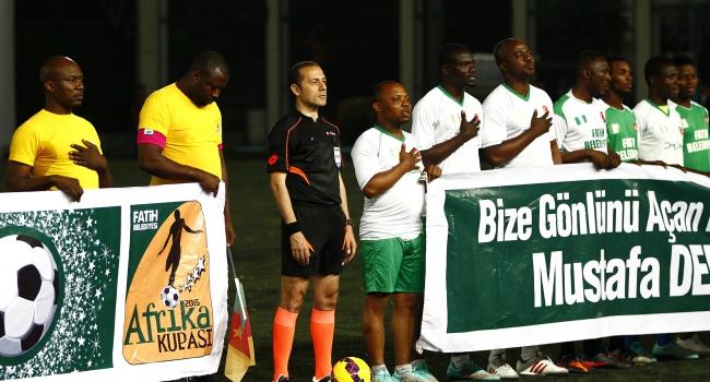 İstanbul'da Afrika Kupası şöleni