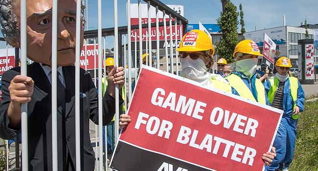 """""""Artık yeter Sayın Blatter!"""""""
