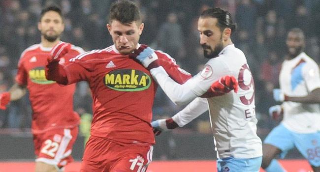 Trabzonspor ile Sivasspor 20. randevuda