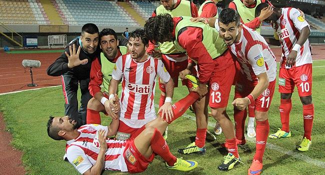 Antalyaspor'da keyifler yerinde