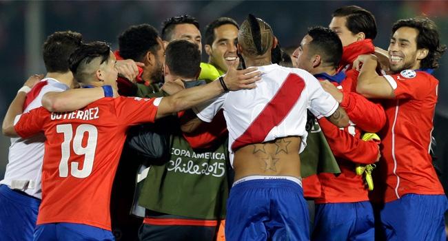 Şili tarihinde 3.kez finalde!