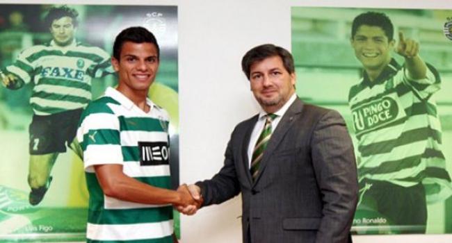 ''Mucize çocuk'' Sporting Lizbon'da