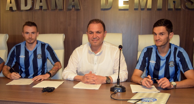 Adana Demir'de çifte transfer