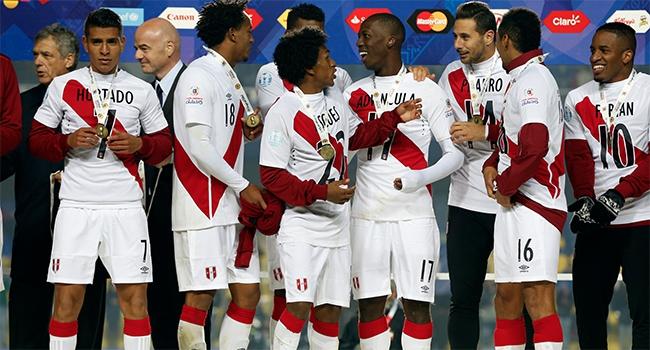 Peru 3. sırada bitirdi