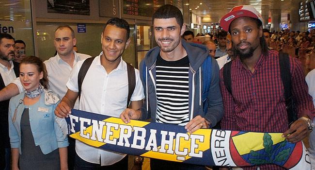 F.Bahçe'nin yeni transferleri İstanbul'da