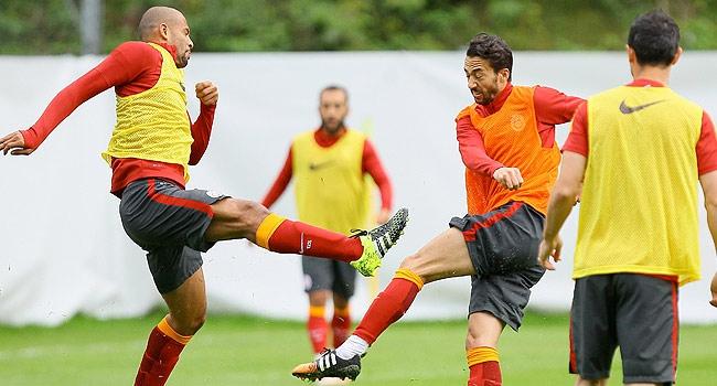 Galatasaray'dan antrenman maçı
