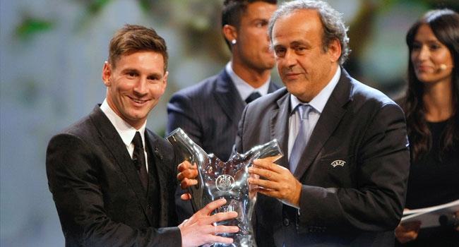 Yılın futbolcusu Lionel Messi!