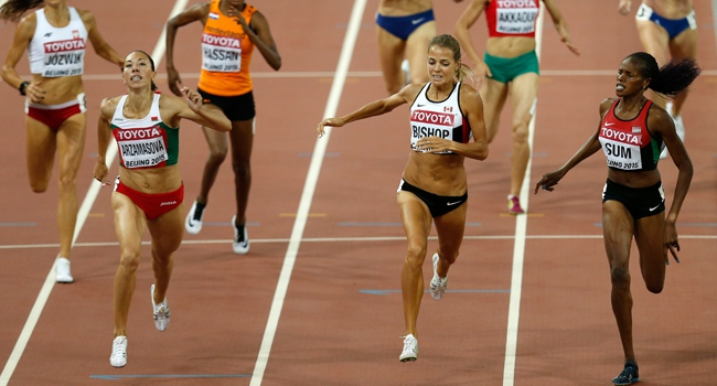 800 metrede altın madalya Belarus'a gitti