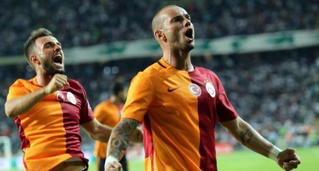 Galatasaray'dan ilk 3'lük!