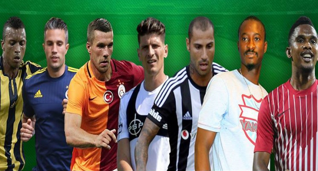 Süper Lig'de transfer bilançosu