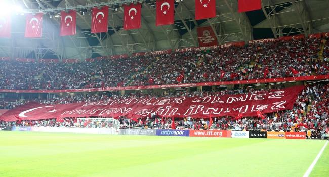 TFF'den Konya'daki taraftarlara teşekkür