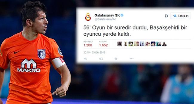 Galatasaray Emre'nin ismini anmadı!